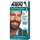 Just For Men Brush-In Color Mustache & Beard - Medium-Dark Brown