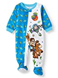 Toy Story Team Baby Boy Blanket Sleeper Footed Pajamas (24m) White