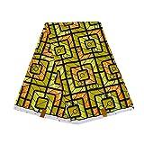 African Fabric 6 Yard Ankara Fabric Tribal Print Fabric for Party Dress Dashiki Long Skirts FP6363