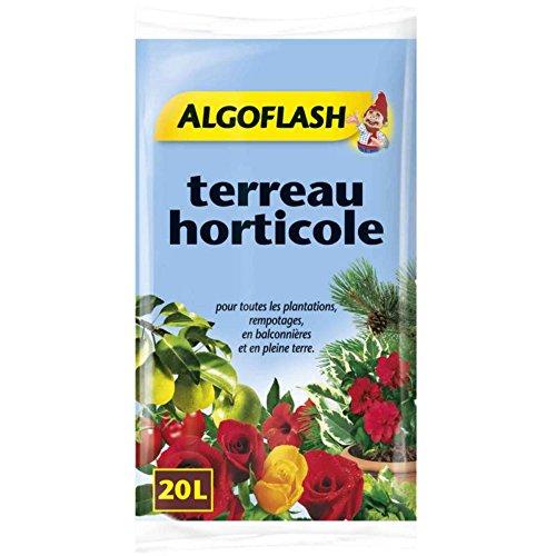 ALGOFLASH ATHORT20N Terreau Horticole 20 L, Non Applicable