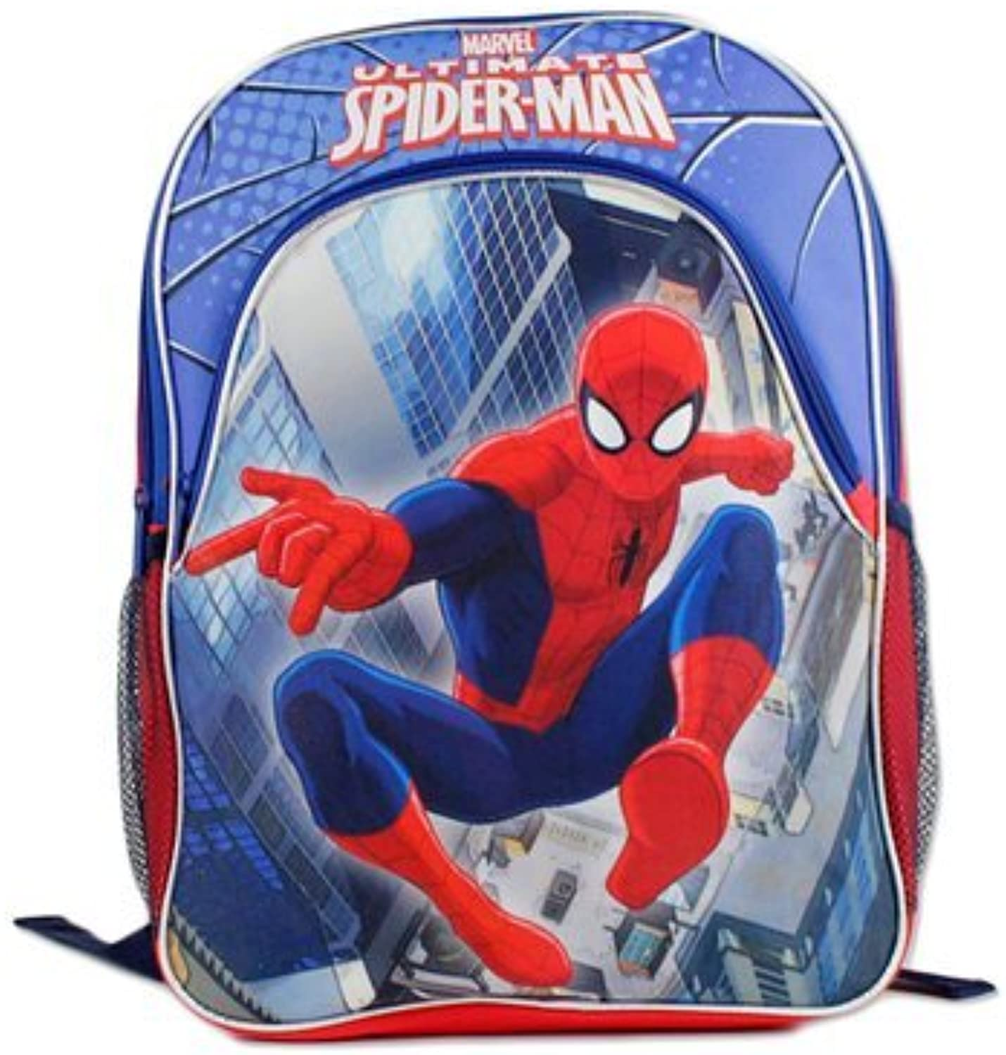 Backpack  Marvel  Spiderman bluee 16  Boys School Bag New PLSM