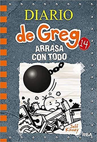 Diario de Greg 14. Arrasa con todo: 014