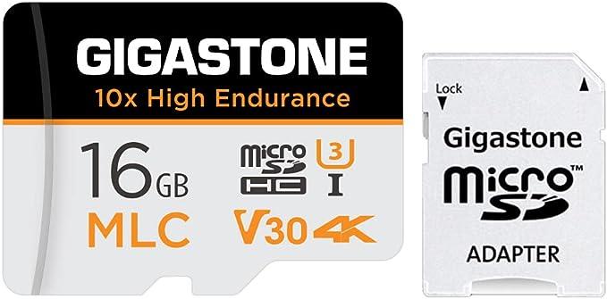 17 opinioni per Gigastone MLC Scheda di Memoria 16 GB, 10x High Endurance, Compatibile con
