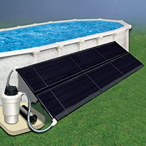 SOLAR DOME POOL HEATING SOLAR SYSTEM: Easy to install with NO gas or electric connections! Heat your pool water the GREEN way using solar energy. Add weeks to your season with free energy from the sun! Multiple collectors can be connected in series t...