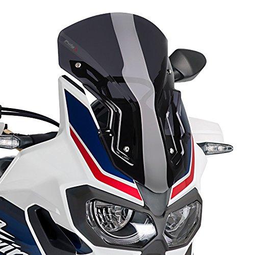 Racingscheibe für Honda Africa Twin CRF 1000 L 16-19 dunkel getönt Puig 8904f