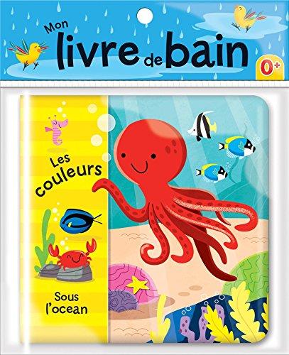 Les couleurs sous l'océan - Mon livre de bain