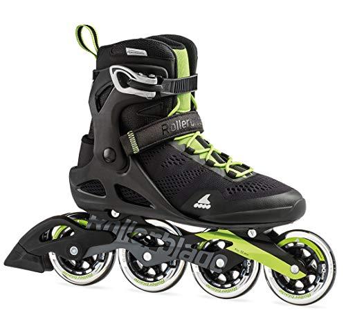 Rollerblade Unisex– Erwachsene MACROBLADE 90 Inline-Skate, Black/Acid Green, 270