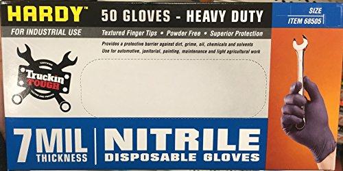 7 mil Nitrile Powder-Free Gloves 50 Pc (Extra Large)