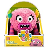 Momonsters Momonsters-AR31000 Haha-Peluche Musical, Color Rosa (Bandai TO31000)