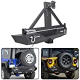 ECOTRIC Steel Rear Bumper Textured Black Compatible...