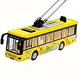 Black Temptation Kinder Spielzeugauto mit Licht und Soundeffekten Yellow Toy Park Bus -