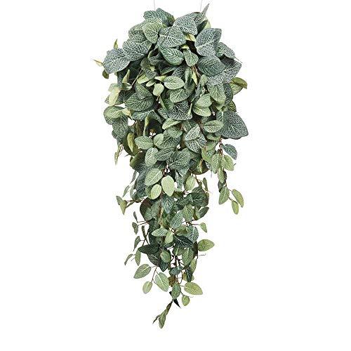 Mica decoraties 953440 Pilea hanger L70B30H20 kunstplant