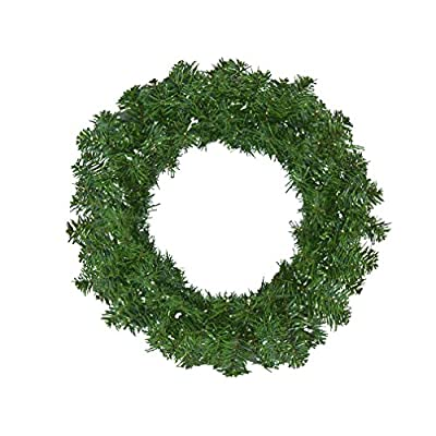 Canadian Pine Artificial Christmas Wreath - Unlit