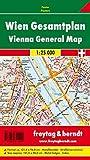 Wien Gesamtplan, 1:25.000, Magnetmarkiertafel - Freytag-Berndt und Artaria KG