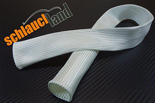 1 Meter Hitzeschutzschlauch FITEX ID 30mm *** Heat Sleeve Thermoschutz Isolierschlauch Kabelschutz