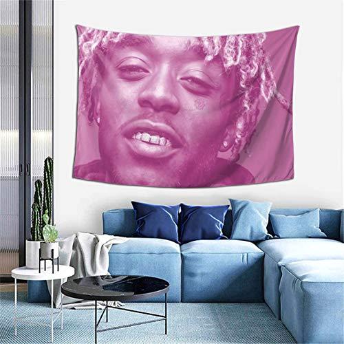 Maaly - Tapiz crudo para decoración de pared para sala de estar, dormitorio, dormitorio o dormitorio, 152,4 x 101,6 cm