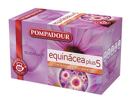 Pompadour Te Infusion Equinacea Plus 5 - 20 bolsitas