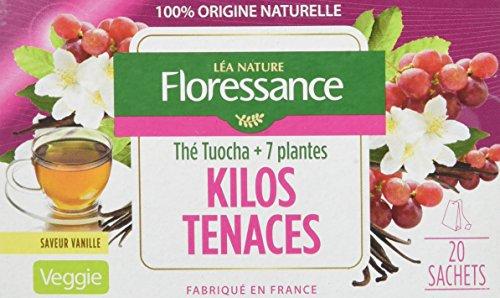 Floressance Phytothérapie Minceur Thé Tuocha + 7 Plantes Kilos Tenaces 20 Sachets Lot de 6
