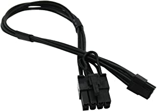 COMeap (2-Pack) 小さい Mini 6 Pin to 8 Pin PCI Express Video Card Power Adapter Cable 現像送電線 互換Mac Pro G5 15-inch(38cm)