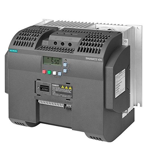 Fantastic Prices! Siemens 6SL3210-5BE31-1UV0 SINAMICS V20 3AC380-480V -15/+10% 47-63HZ RATED POWER 11KW WITH 150% OVERLOAD FOR 60SEC UNFILTERED I/O-INTERFACE: 4DI, 2DO,2AI,1AO FIELDBUS: USS/MODBUS RTU
