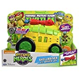 BCT Deals Inc Teenage Mutant Ninja Turtles Pre-Cool Half Shell Heroes Shellraiser w/ Leonardo Vehicle & Figure