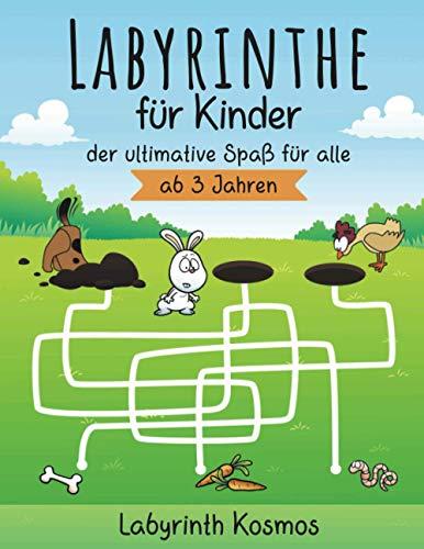 Labyrinthe für Kinder - der ultimative Spaß für alle ab 3 Jahren