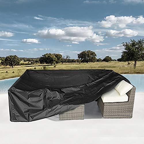 Patio Furniture Set Cover Outdoor Sectional Sofa Set Covers Outdoor Table and Chair Set Covers Water Resistant 110