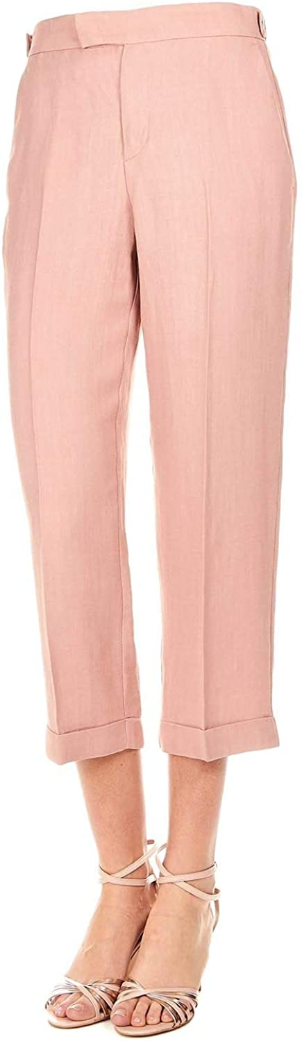 TWINSET Women's 191TP220200123 Pink Polyester Pants