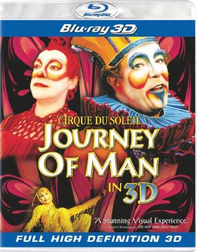 Cirque du Soleil: Journey of Man [Blu-ray 3D]