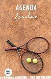 Agenda Escolar 2021-2022 Tenis: Agendas 2021-2022 dia por pagina   Planificador diario para niñas y niños Jugadores   material escolar Ideal para ... Primario colegio secundaria   Portada Tennis