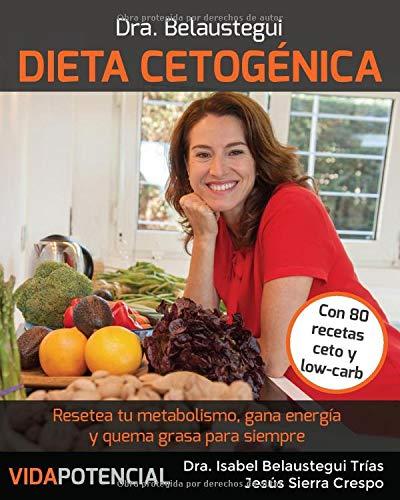 Dieta Cetogénica: Resetea tu metabolismo, gana energía y quema grasa para siempre (Spanish Edition