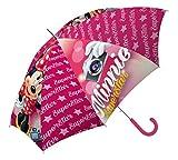 Disney Minnie Mouse 16'' Paraguas, Multicolor