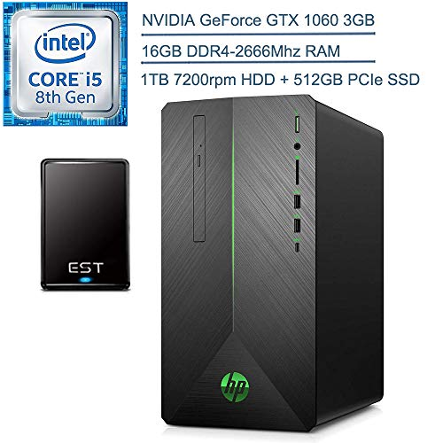 2020 HP Pavilion 690 VR Ready Gaming Desktop...