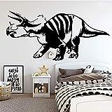 wZUN Calcomanía de Pared Vinilo decoración del hogar Pegatina de Pared Dinosaurio calcomanía Mural 58X28cm