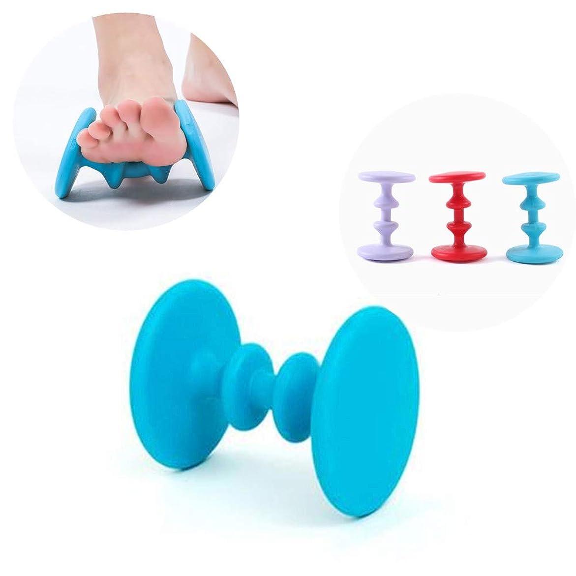交流する魔術ワーディアンケースフットマッサージローラー、アキュポイントマッサージ器快適なリラクゼーションツール足底筋膜炎リラックス(3色選択可能)