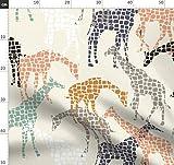 Giraffe, Afrika, Indigen, Tier, Tiere Stoffe - Individuell