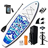 FunWater Inflatable 10'6×33'×6' Ultra-Light (17.6lbs) SUP...