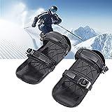 YYZS Tacos de Tracción, Tacos de Hielo, Raquetas de Nieve de Aluminio, Calzado de Esquí, Cubiertas Antideslizantes para Zapatos, Puños Ice Snow, Cubrezapatos