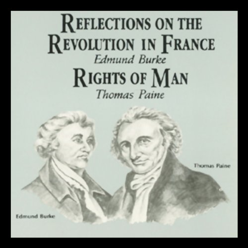 Reflections on the Revolution in France & Rights of Man  copertina