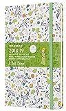 Moleskine 2018 - 2019 Agenda Settimanale Le Petit Prince 18 Mesi, con Spazio per Note, in Edizione Limitata, Large, Pattern con Motivi Bianchi