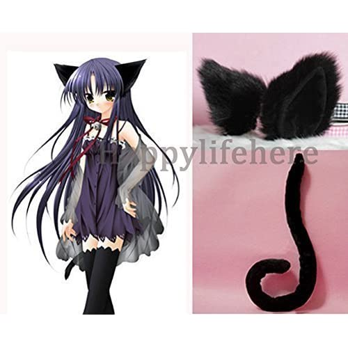 New Cat Animal Anime Long Tail Cosplay Halloween Costume