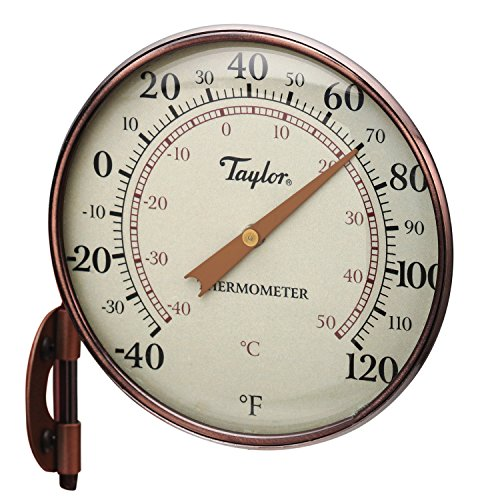 """Best outdoor thermometer - Taylor Precision Products 481CR Dial Thermometer, 4.25"""", Copper"""