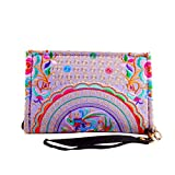 CHENGXIAOXUAN National Wind Sticken Brieftaschen Mode Taschen Bestickte Taschen Bestickte Handtasche...
