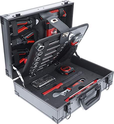 BGS Do it yourself BGS DIY 6057 Juego en maletín de aluminio | con 66 herramientas