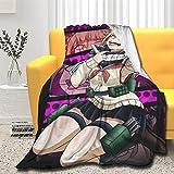 Xuliaro Himiko Toga Throws Blanket Ultra Soft Comfort Bed Blanket Sofa Travel (Himiko Toga 01, Small (50x40 in))
