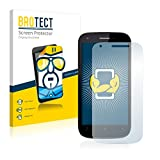 BROTECT Schutzfolie kompatibel mit Wiko Cink Peax 2 (2 Stück) klare Bildschirmschutz-Folie
