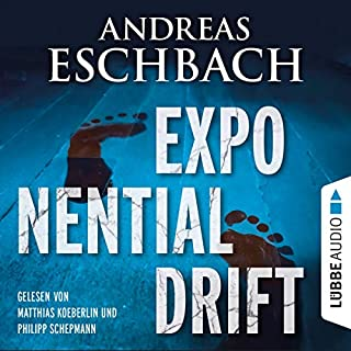 Exponentialdrift audiobook cover art