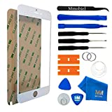 MMOBIEL Front Glass Replacement Compatible withiPhone 6 Plus / 6S Plus (White) Display Touchscreen incl Tool Kit