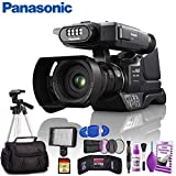 Panasonic HC-MDH3 AVCHD Shoulder Mount Camcorder with LCD Touchscreen & LED Light - Deluxe Kit
