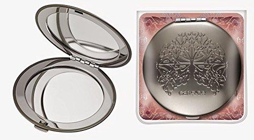 Catrice cosmetics Edition limitée Viennart Miroir pliant avec un décor unique. Avec deux surfaces pour se mirer. Un idéal pour tout sac à main.